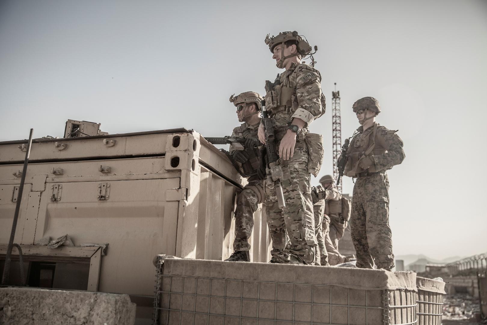 عناصر للجيش الأمريكي في مطار كابل