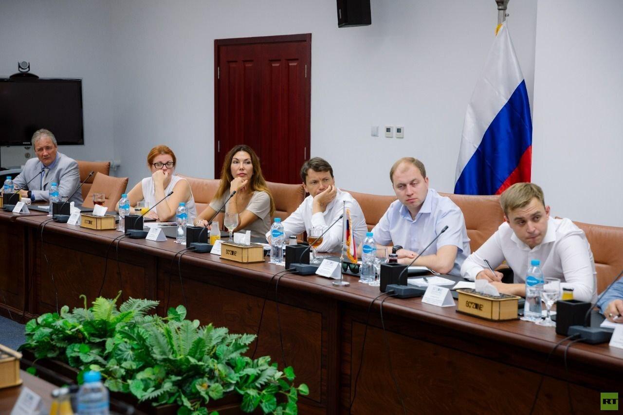 وفد روسي يزور موقع مشروع المنطقة الصناعية الروسية بالسخنة المصرية