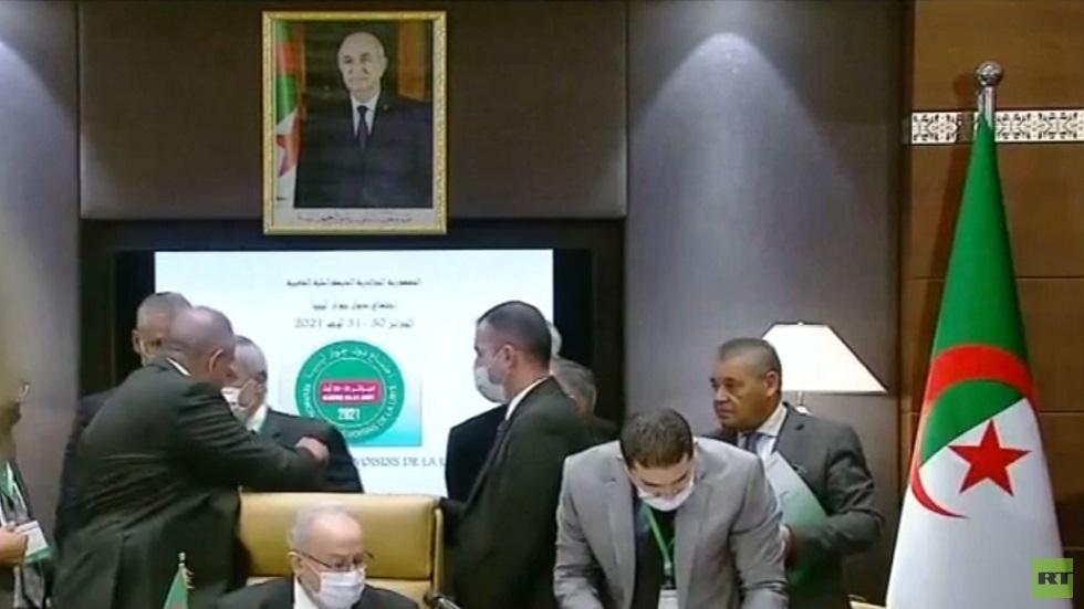 اجتماع الجزائر: يجب خروج المرتزقة من ليبيا