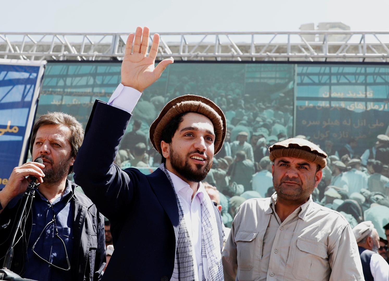أحمد مسعود يضع شرطا لإلقاء سلاحه