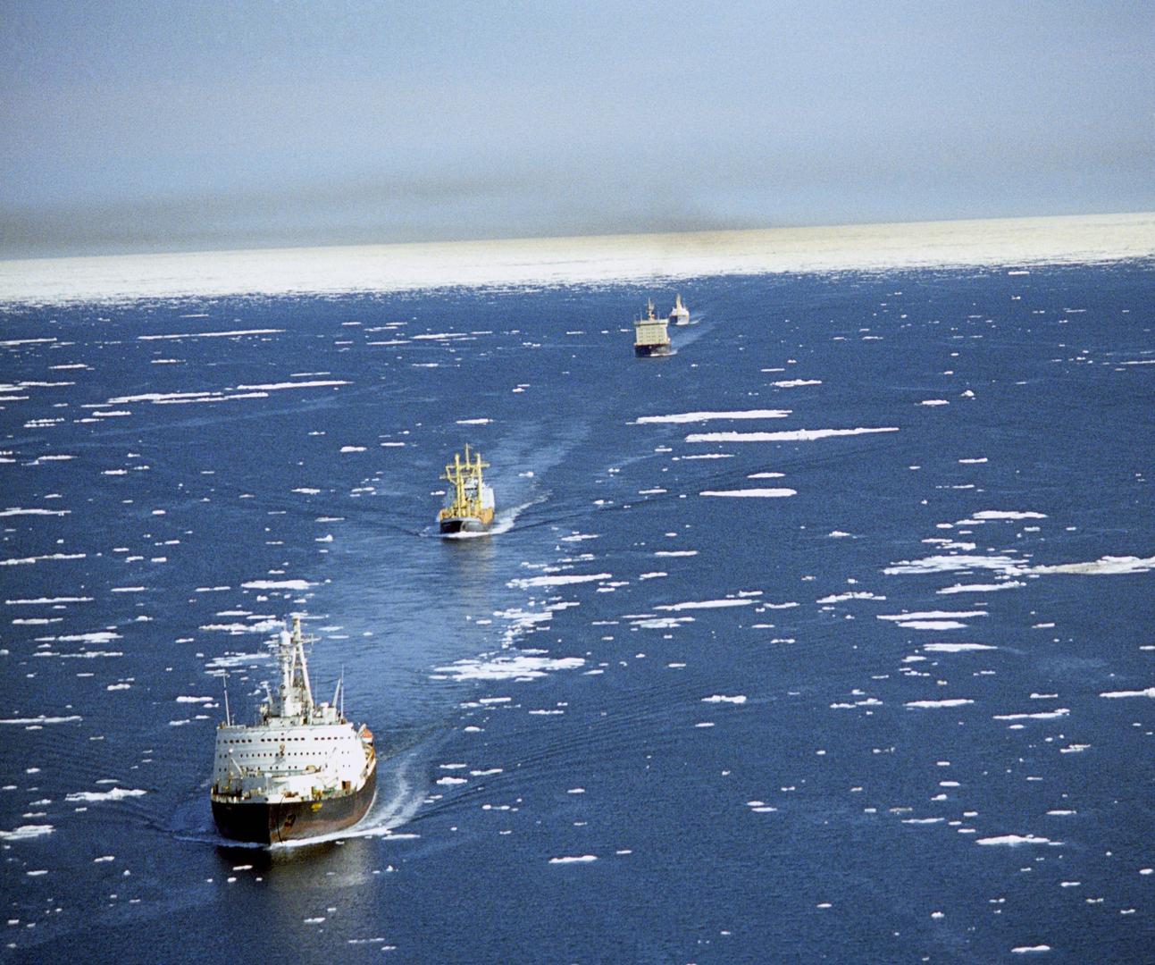 وزير: روسيا ستبدأ الإبحار على مدار العام على ممر الملاحة الشمالي في غضون 5 سنوات