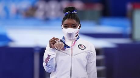 أولمبياد طوكيو.. بايلز تختتم مشاركتها المنقوصة ببرونزية عارضة التوازن