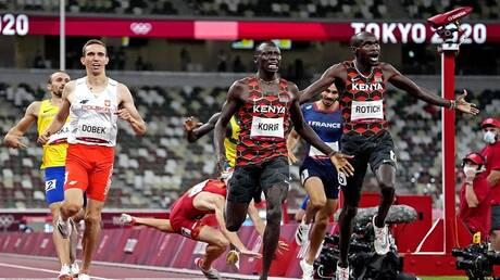 أولمبياد طوكيو.. كينيا تحقق الثنائية في سباق 800 متر