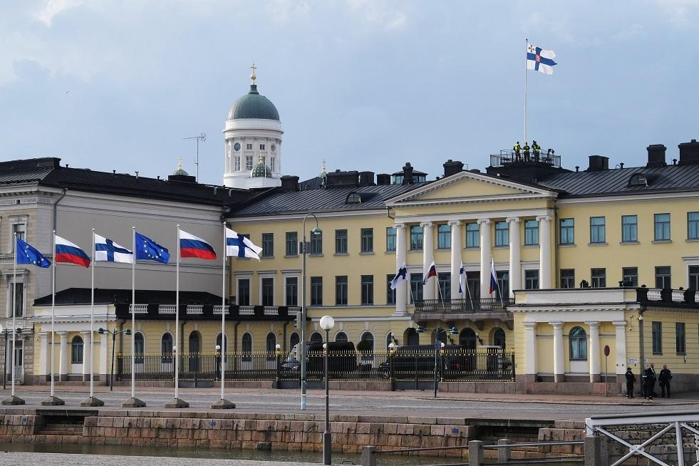 تفتيش عسكري روسي لقيادة جوية في فنلندا