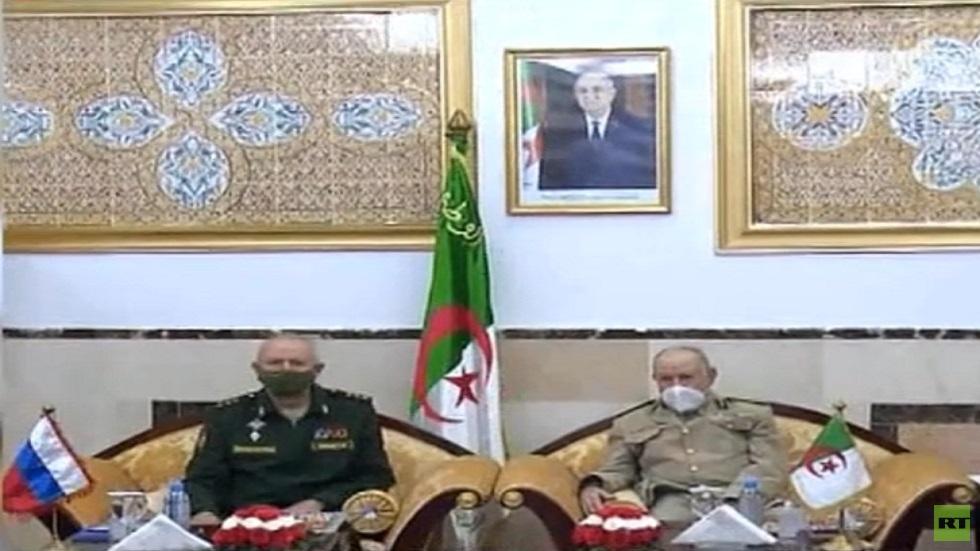 وفد عسكري روسي في الجزائر لبحث التعاون