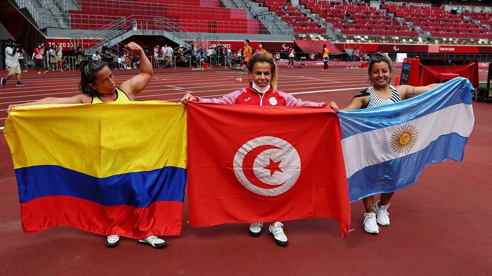 حصيلة ميداليات الدول العربية بعد منافسات اليوم في الألعاب البارالمبية 2020