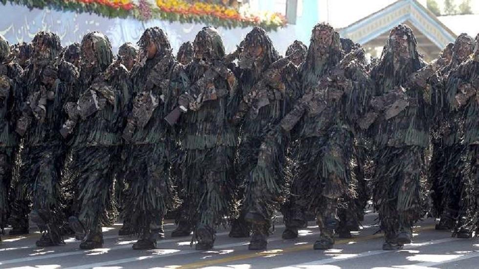 الحرس الثوري الإيراني يقضي على خلية إرهابية على الحدود مع العراق