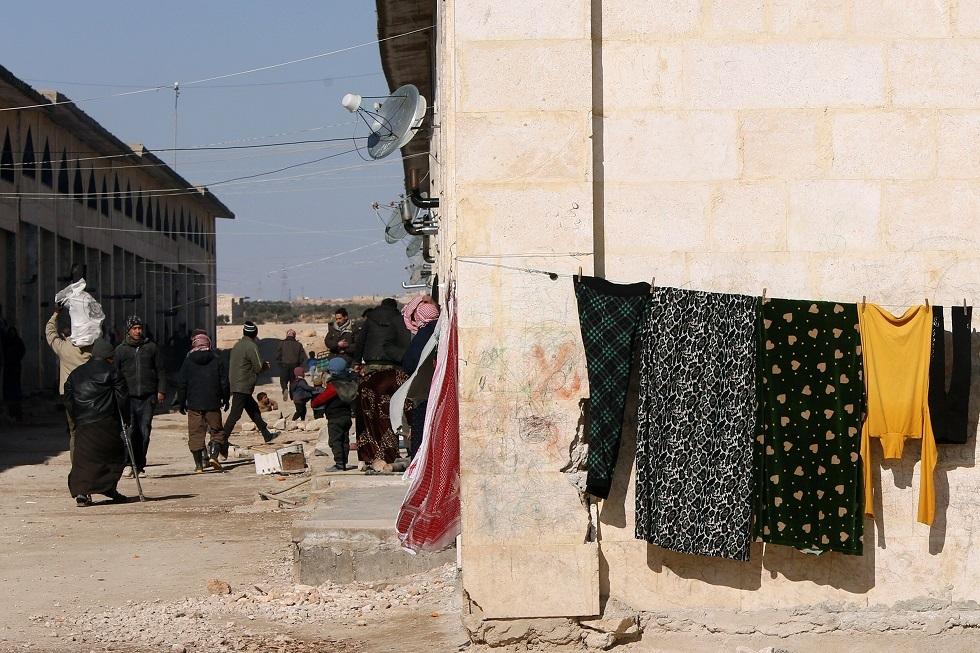 نازحون في حلب