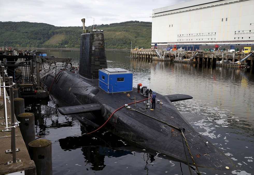 غواصة نووية بريطانية