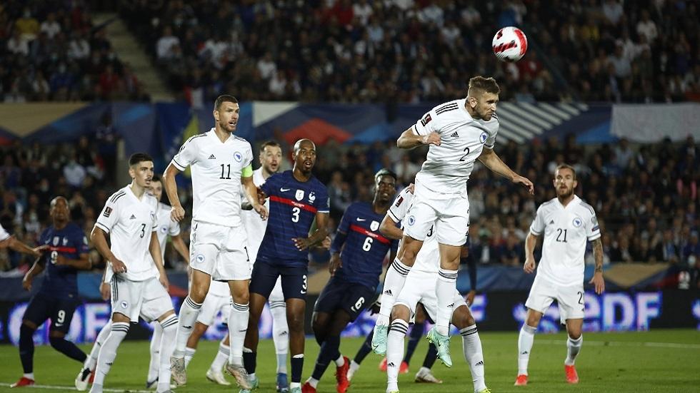تصفيات مونديال 2022.. فرنسا تسقط في كمين البوسنة
