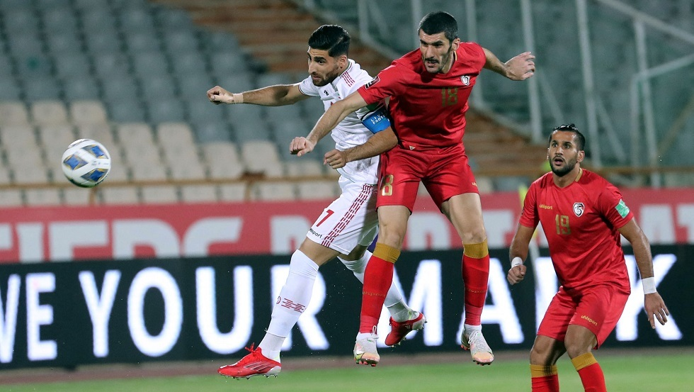 إيران تفوز على سوريا بهدف قاتل في تصفيات مونديال قطر 2022