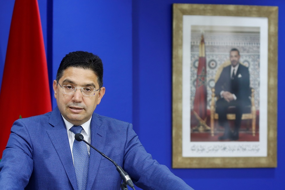 وزير الخارجية المغربي ناصر بوريطة