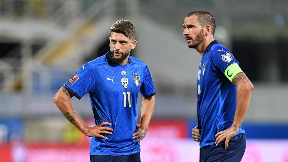 منتخب إيطاليا لكرة القدم يحقق رقما قياسيا رغم تعثره أمام بلغاريا (فيديو)