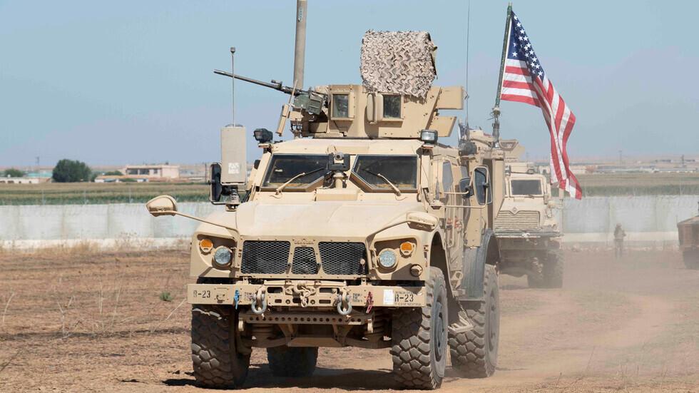 وحدات بالقوات الأمريكية في سوريا.