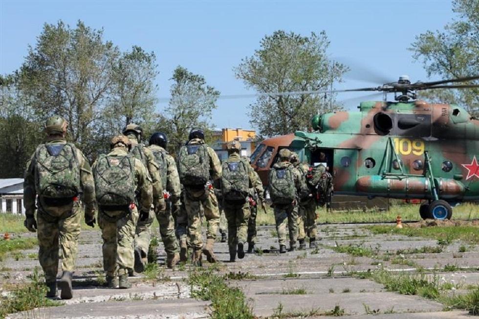 أفراد الحرس الوطني الروسي، أرشيف