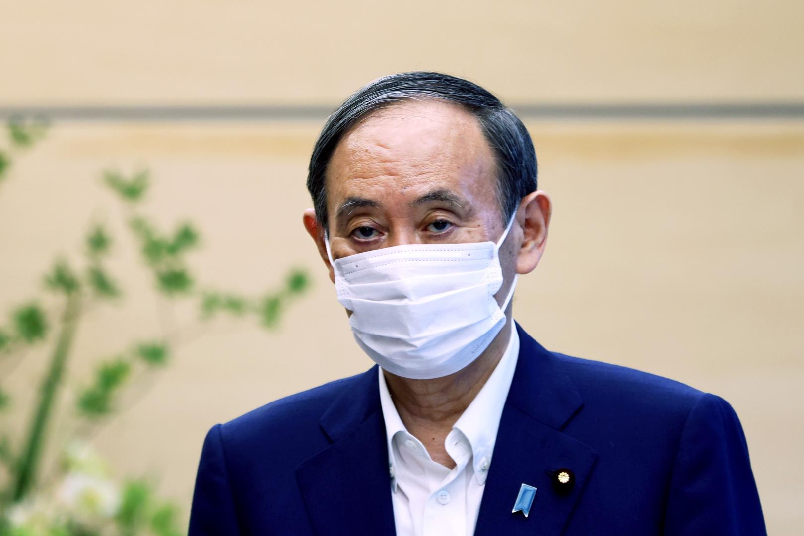 رئيس الوزراء الياباني يوشيهيدو سوغا