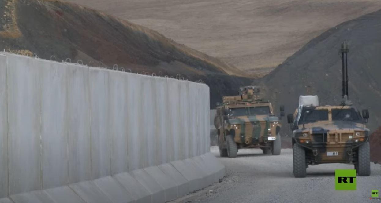 تركيا تنهي تشييد جدار على طول الحدود مع إيران