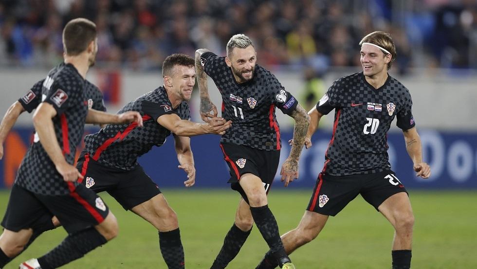 كرواتيا تهزم سلوفاكيا بهدف قاتل في تصفيات مونديال قطر 2022.. فيديو