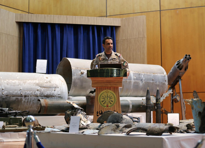 المتحدث باسم وزارة الدفاع السعودية، العميد الركن تركي المالكي