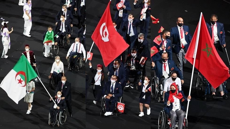 الترتيب النهائي للدول العربية في دورة الألعاب البارالمبية