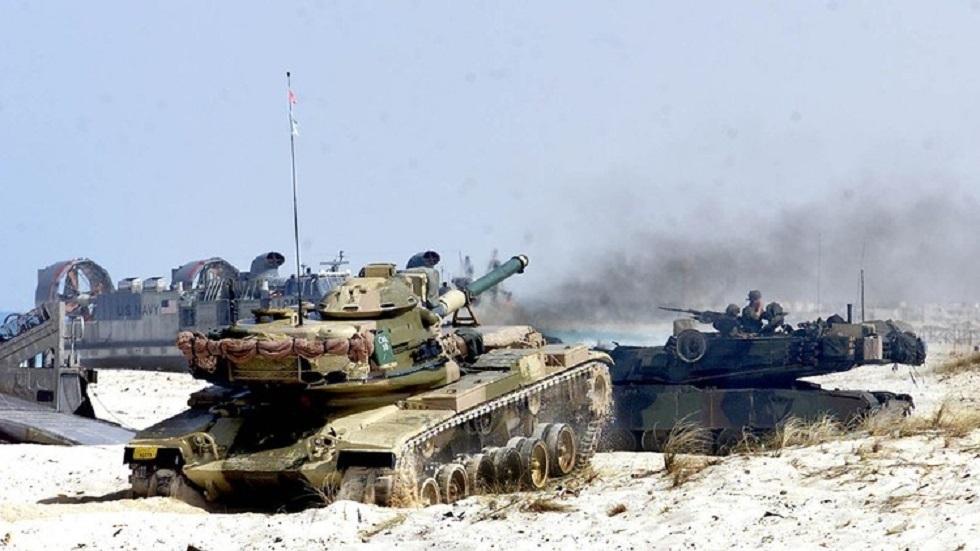 الجيش المصري ينشر رسما بيانيا عن تدريبات