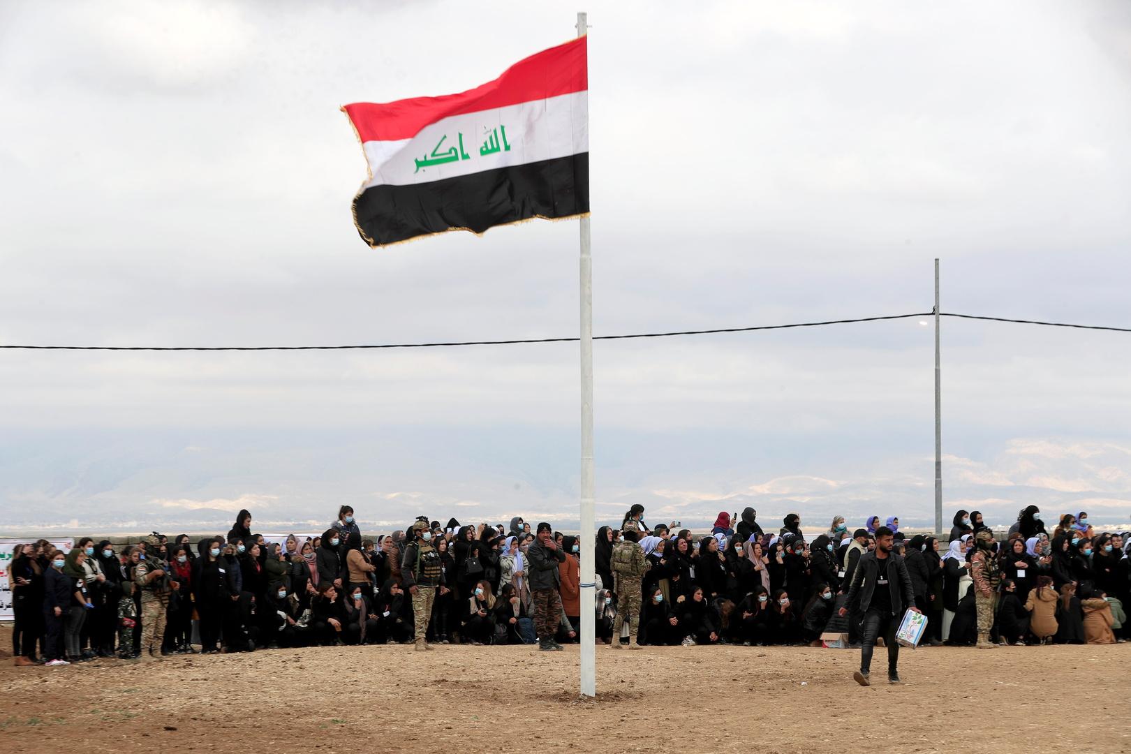 عملية سطو مسلح غريبة من نوعها في العراق (فيديو)