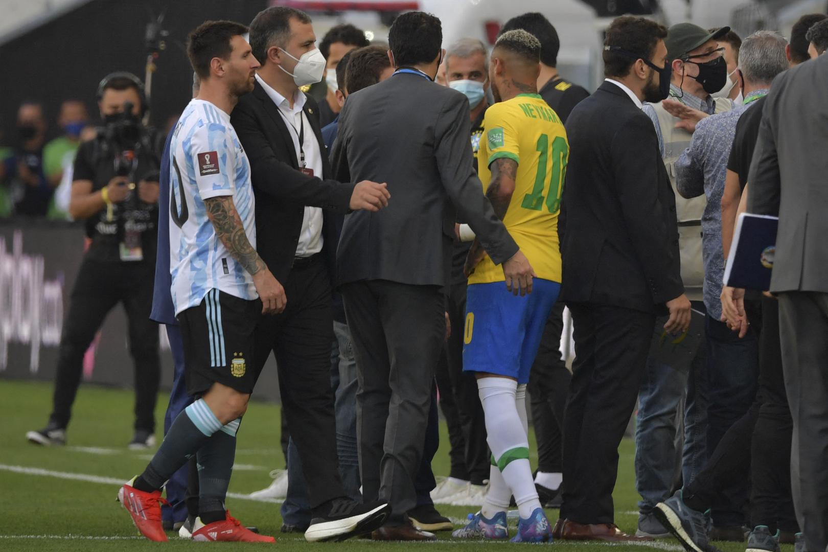 الفيفا يعلق على فضيحة مباراة الأرجنتين والبرازيل