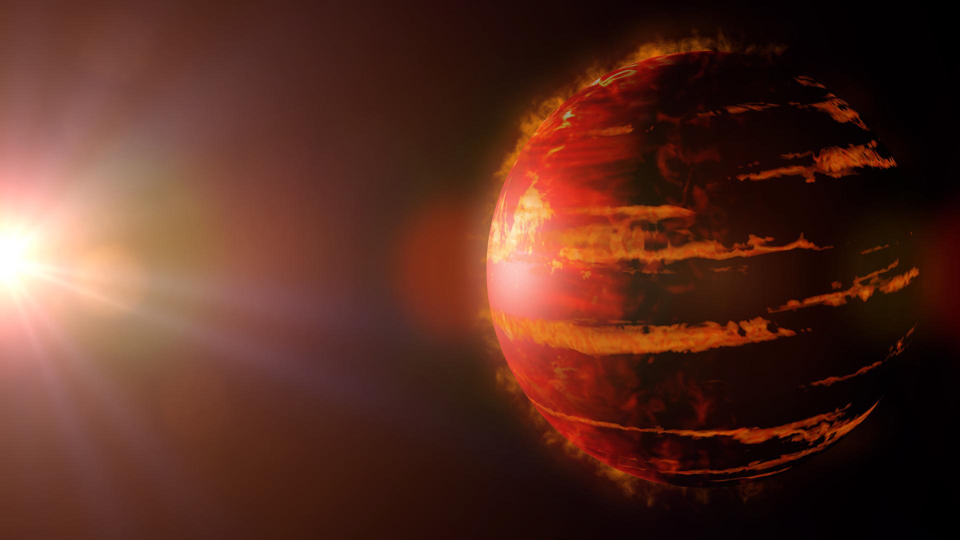 اكتشاف كوكب خارج المجموعة الشمسية شديد الحرارة وبأضعاف حجم كوكب المشتري
