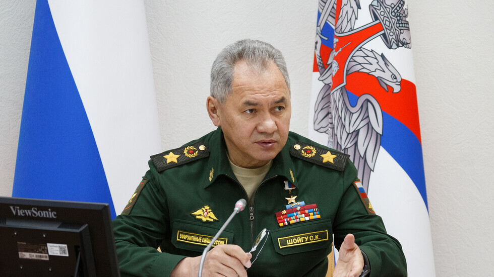 وزير الدفاع الروسي، سيرغي شويغو.