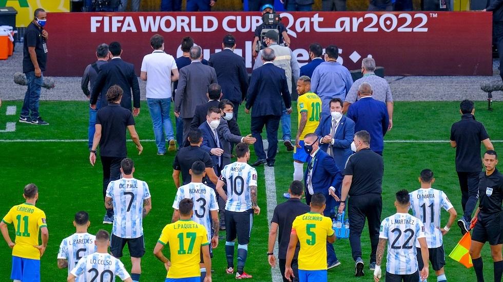 الاتحاد البرازيلي: لقد أخطرنا الأرجنتين