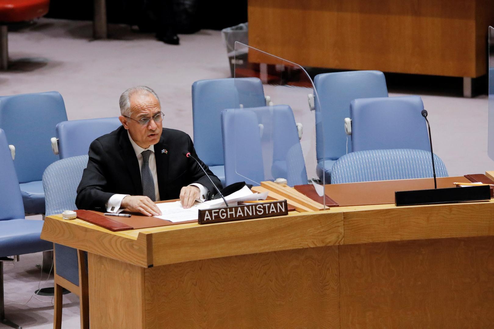 مندوب أفغانستان لدى الأمم المتحدة غلام إسحاقزي