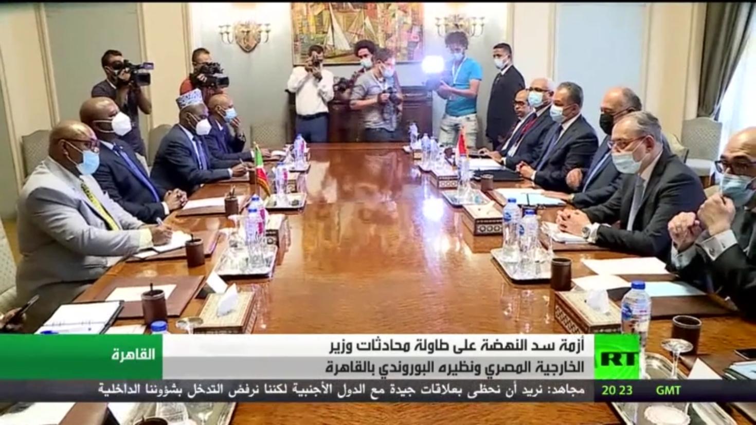محادثات مصرية بوروندية في القاهرة