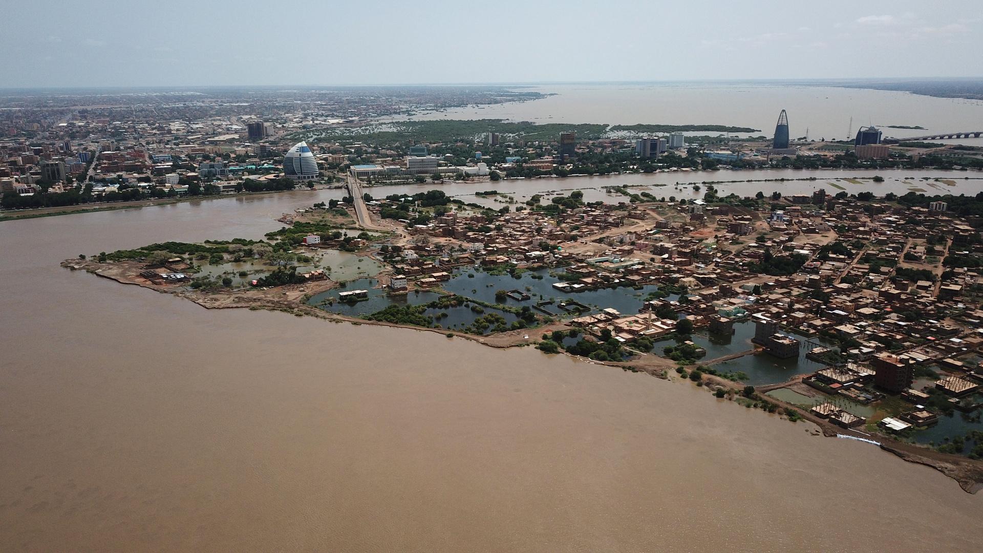 فيضانات في السودان (أرشيف)
