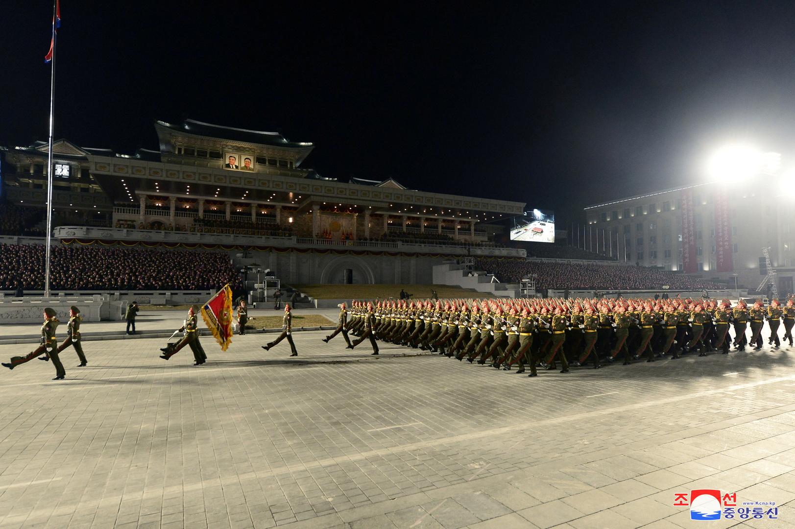 عرض عسكري في بيونغ يانغ (أرشيف).
