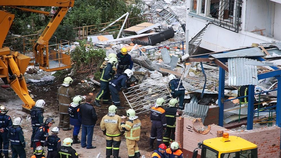 ارتفاع عدد ضحايا انفجار الغاز بمقاطعة موسكو