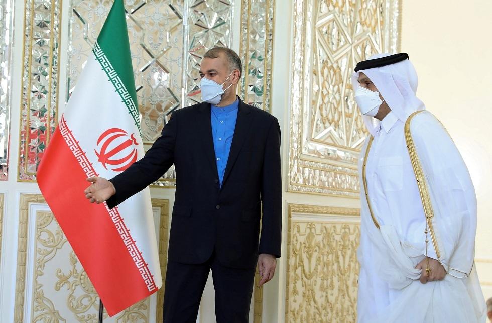وزير خارجية إيران يبحث مع نظيره القطري آخر التطورات في أفغانستان