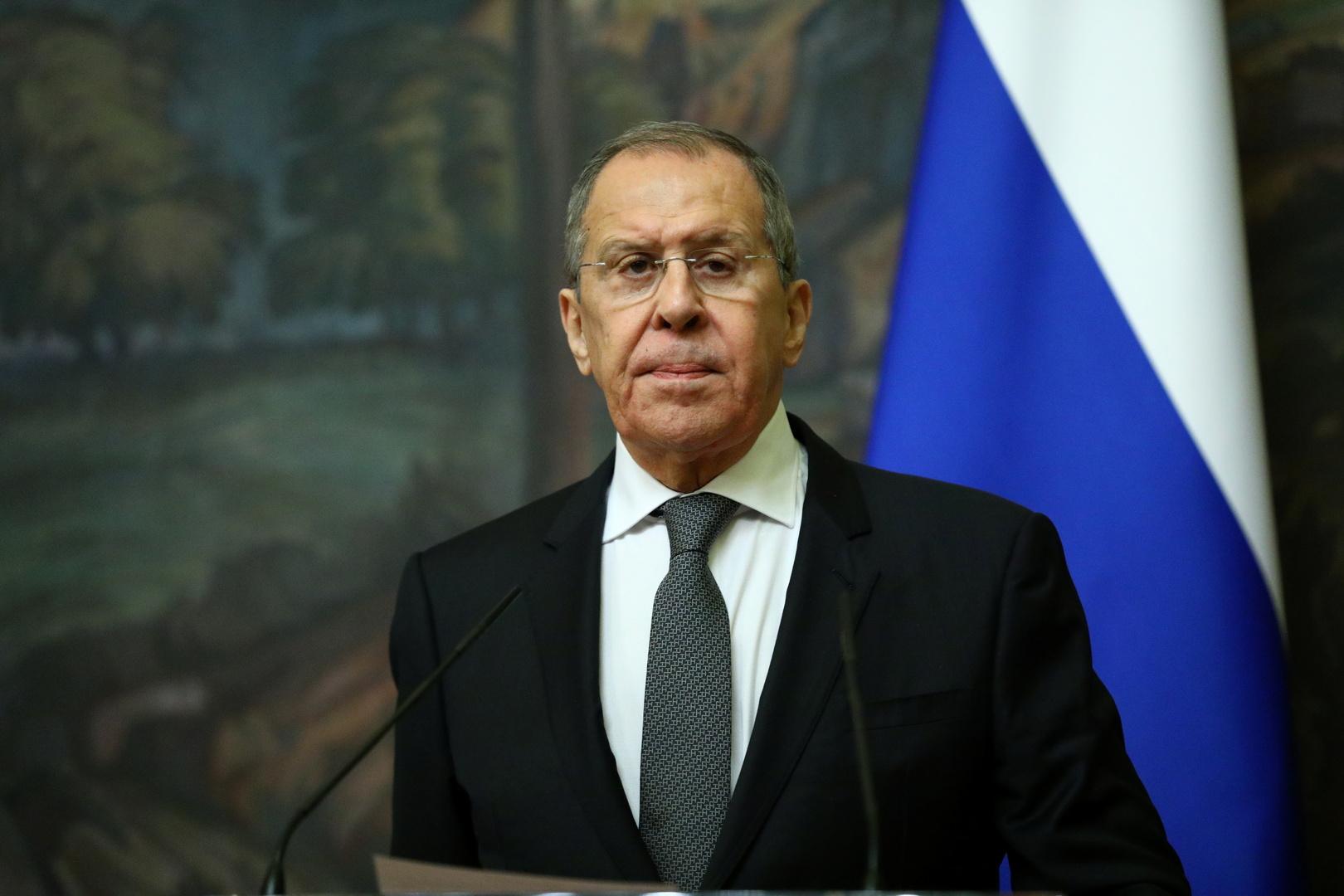 لافروف: التطبيع بين إسرائيل وجيرانها يجب أن يساعد في التسوية الشاملة