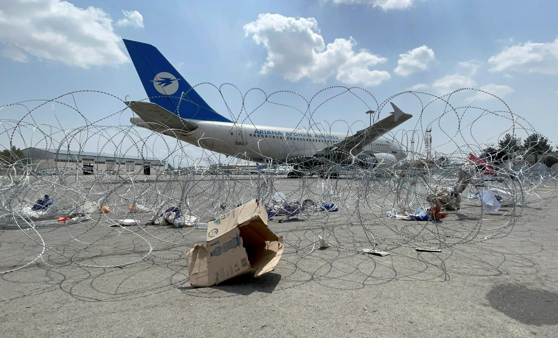 تسيير أول رحلة دولية من كابل منذ انسحاب الأمريكيين و