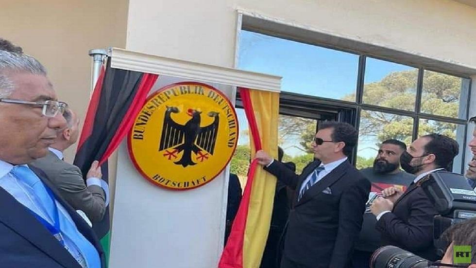 السفارة الألمانية في طرابلس تستأنف عملها بعد 8 سنوات على إغلاقها