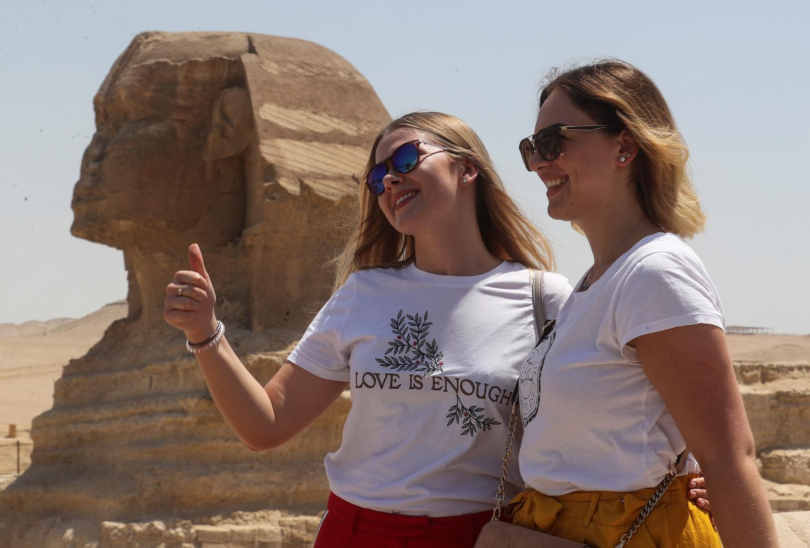 مصر تعلن تضاعف عدد السياح الروس إلى البلاد