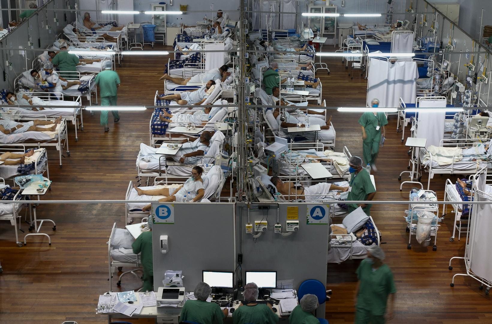 البرازيل تسجل 753 وفاة و30 ألف إصابة جديدة بكورونا