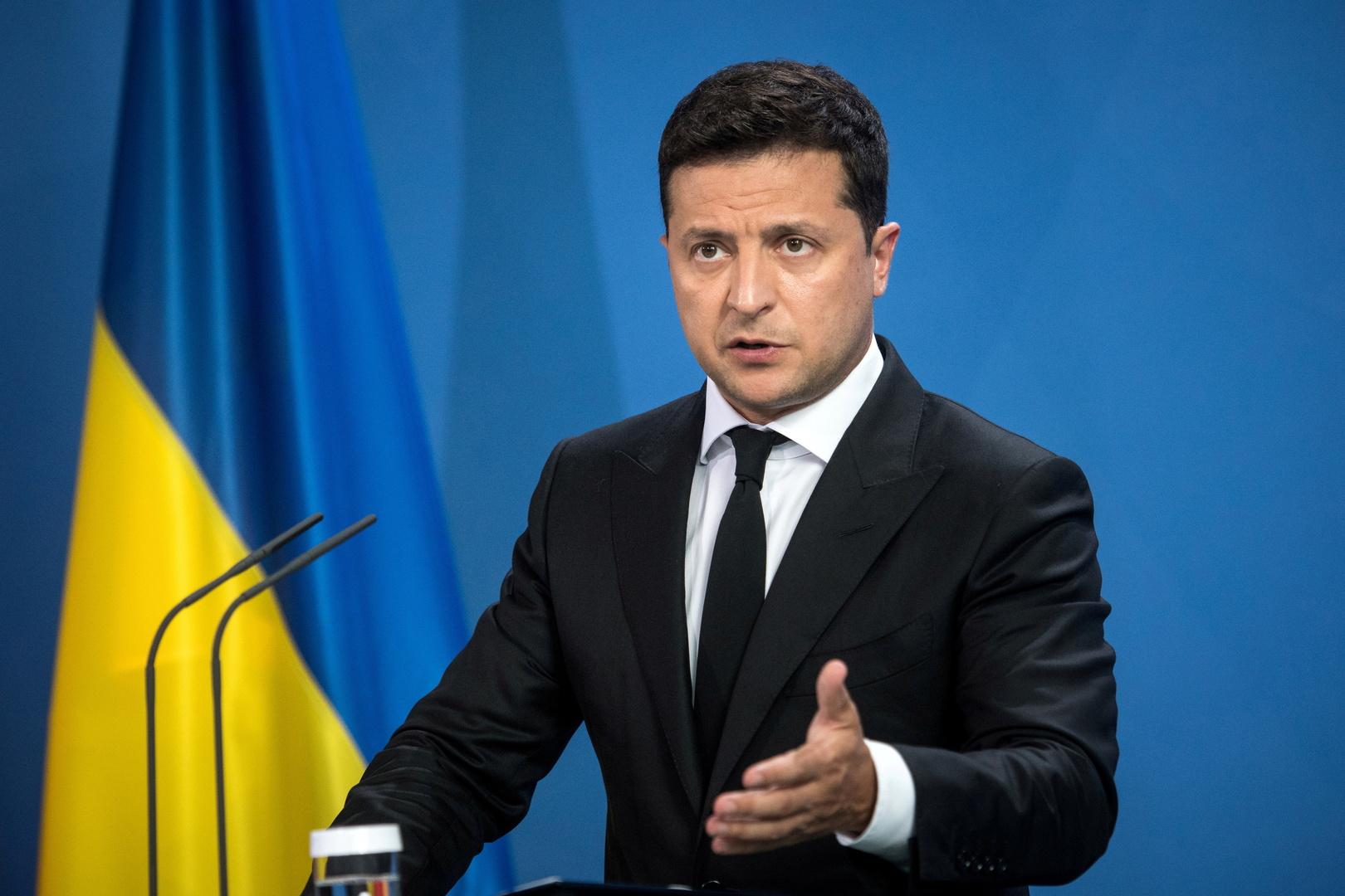 زيلينسكي: كييف لم تتلق ردا مباشرا من واشنطن بشأن عضوية الناتو
