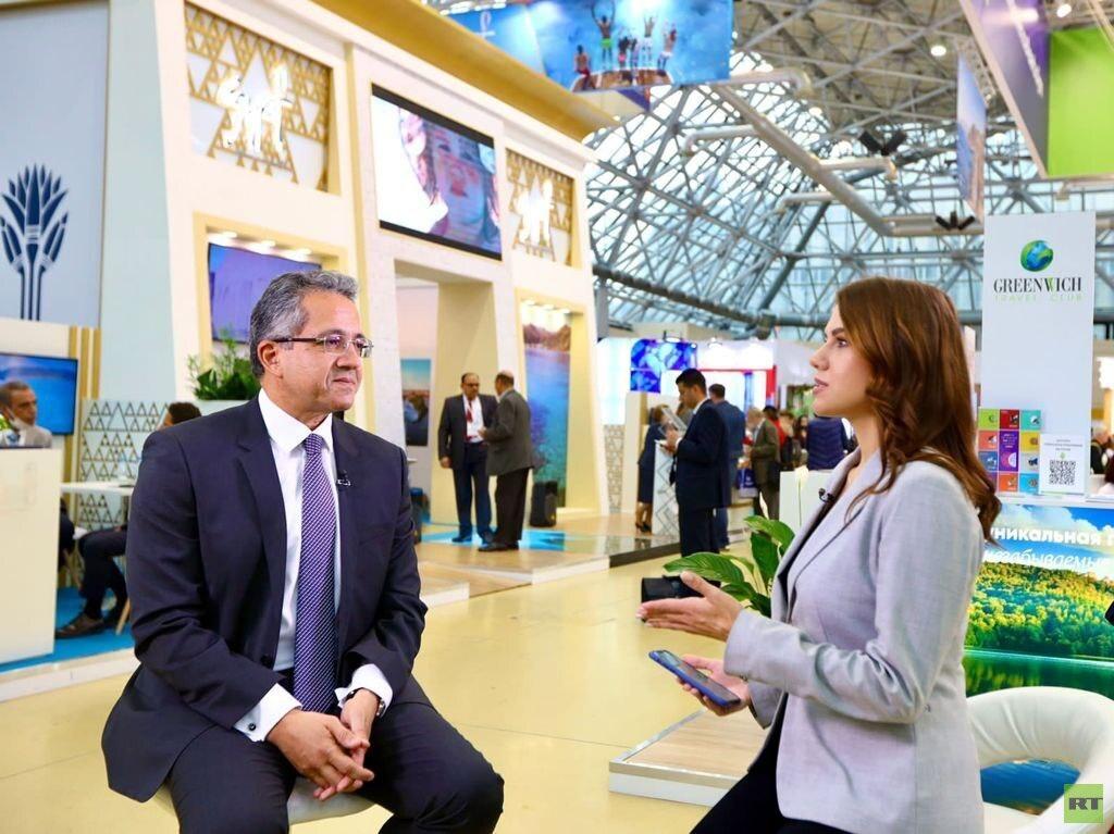 وزير السياحة: مصر جاهزة لاستقبال السياح من مختلف دول العالم