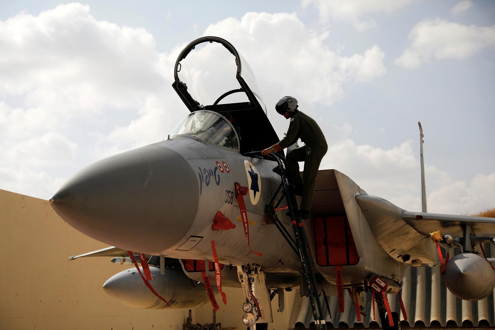 مقاتلة إسرائيلية من طراز