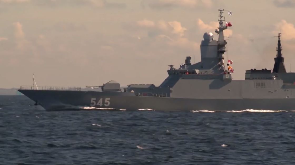 روسيا.. انطلاق سفن أسطول البلطيق للمشاركة في مناورات