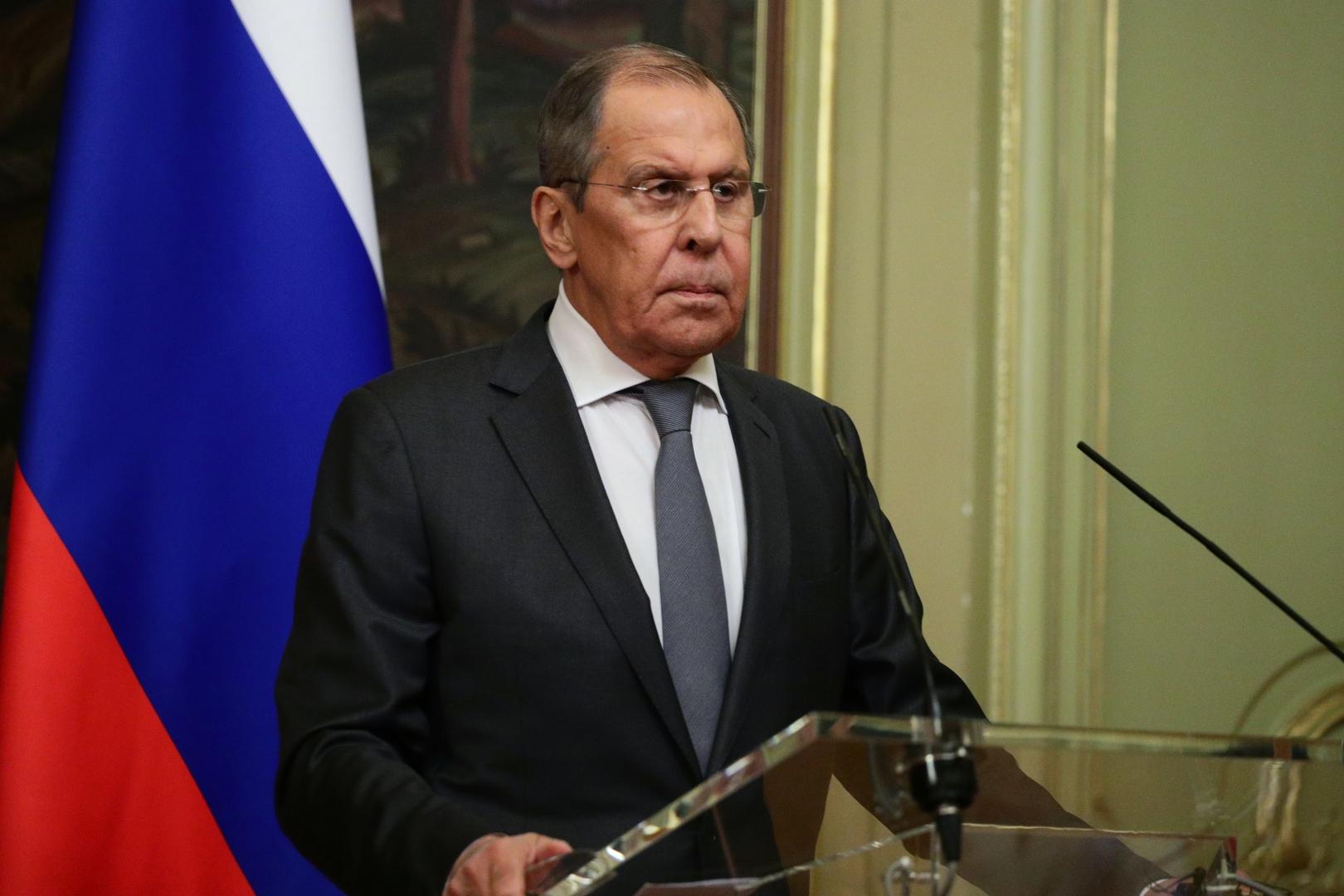لافروف: نأمل في استئناف اللجنة الدستورية السورية عملها في القريب