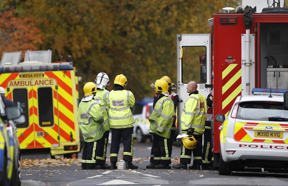 رجال الإطفاء في بريطانيا