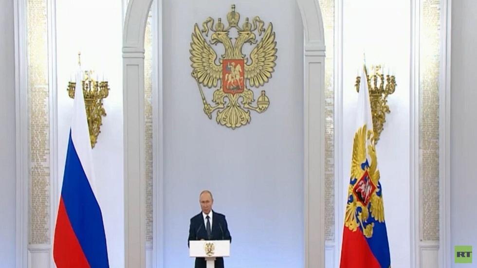 بوتين يكرم أبطال الألعاب الأولمبية الروس