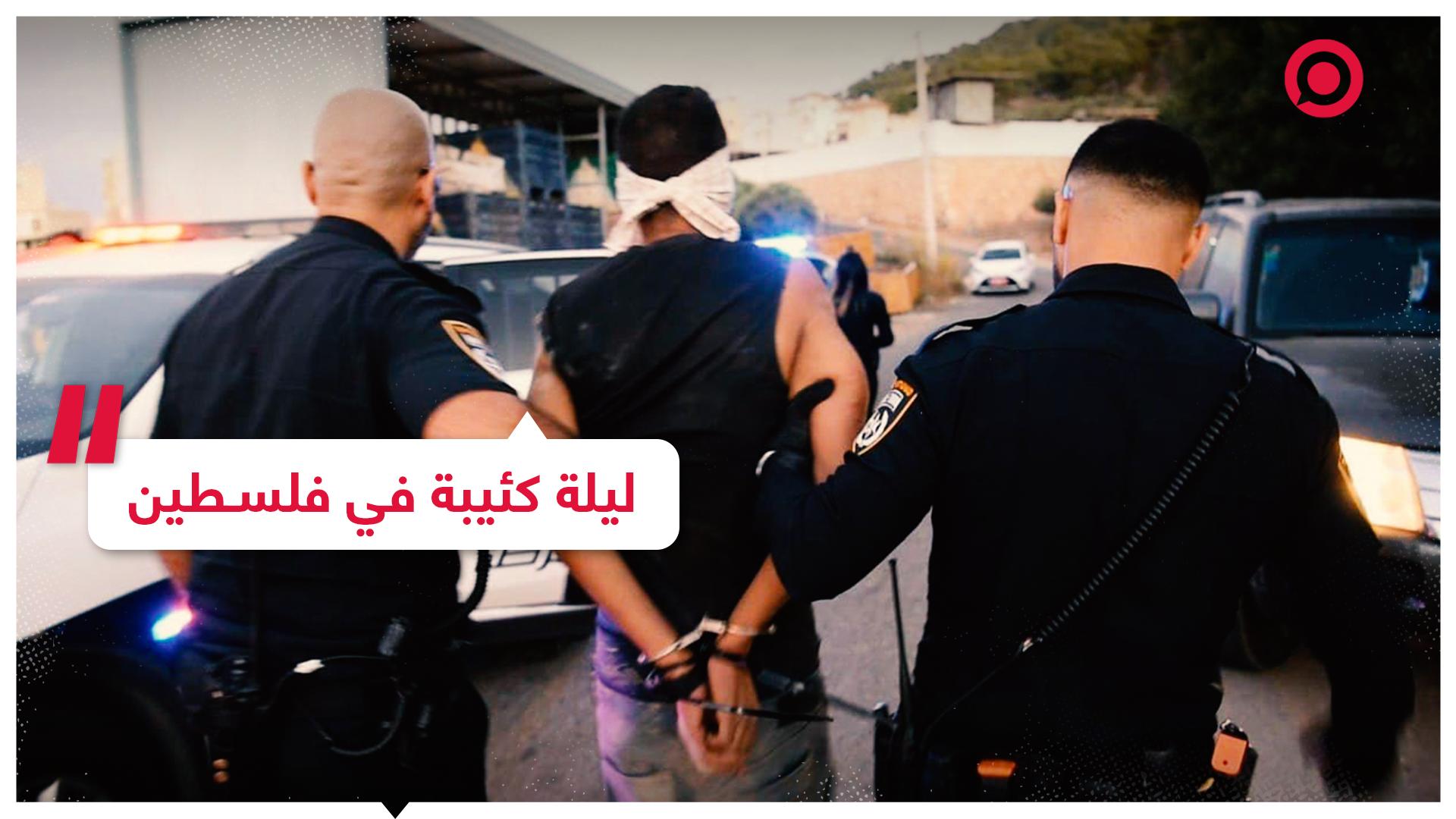 الحزن يخيم على الشارع الفلسطيني