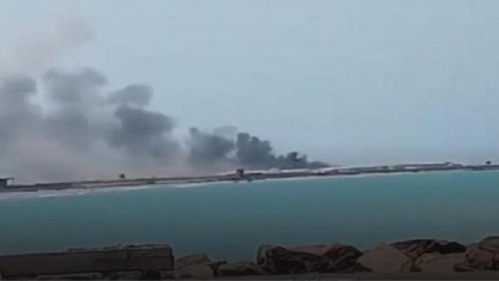 هجوم الحوثيين على ميناء المخا